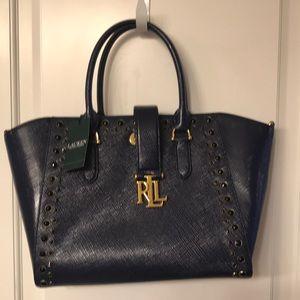 Ralph Lauren navy purse